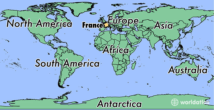 France On Map Where is France? / Where is France Located in The World? / France
