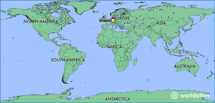 Where Is Germany Where Is Germany Located In The World - Germany map location