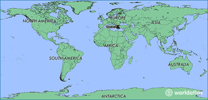 Where is greece where is greece located in the world greece map showing the location of greece gumiabroncs Images