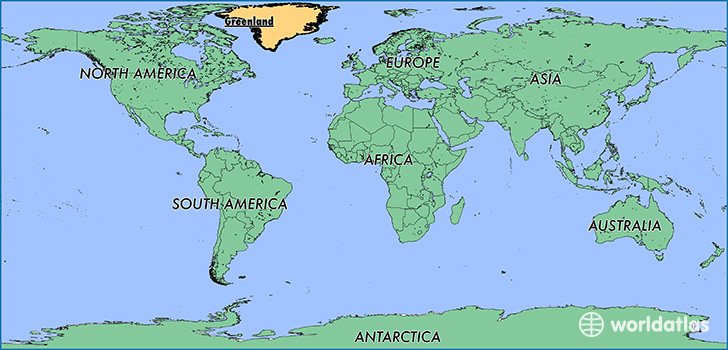 Where is greenland where is greenland located in the world map showing the location of greenland gumiabroncs Gallery