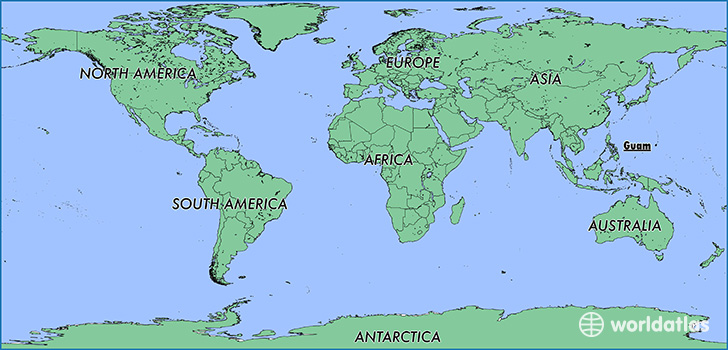 Where is Guam? / Where is Guam Located in The World? / Guam Map