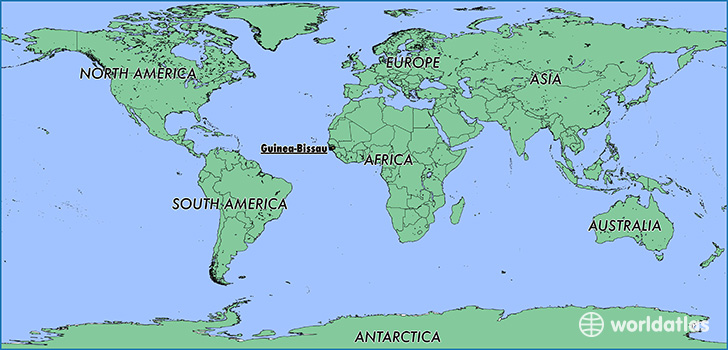 Guinea Bissau World Map Where is Guinea Bissau? / Where is Guinea Bissau Located in The