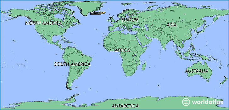 Where is Iceland Where is Iceland Located in The World Iceland Map Wo