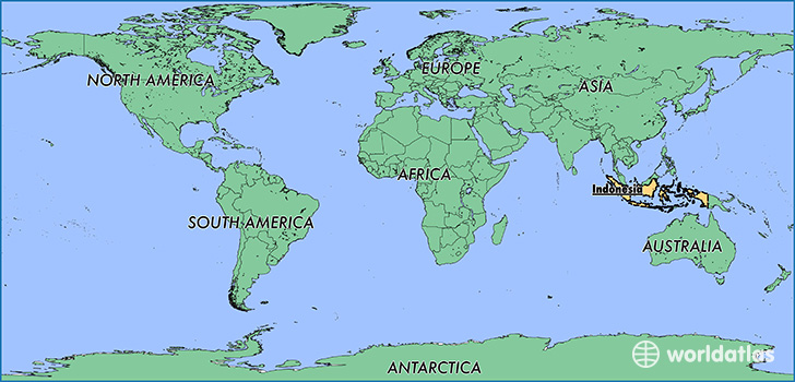 Where is indonesia where is indonesia located in the world map showing the location of indonesia gumiabroncs Images
