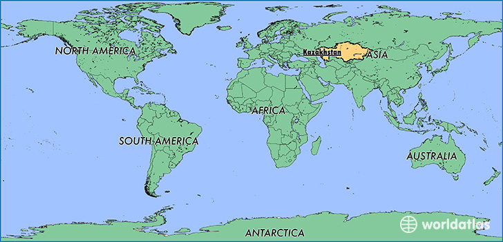 Where is kazakhstan where is kazakhstan located in the world map showing the location of kazakhstan gumiabroncs Choice Image