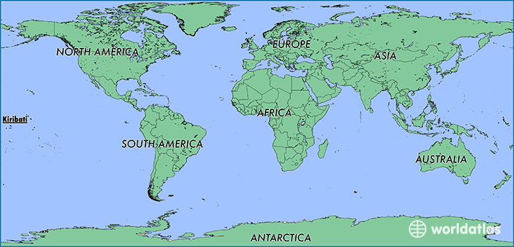 Where is Kiribati? / Where is Kiribati Located in The World ... on kiribati pacific island map, south pacific islands world map, islands of kiribati map, marshall islands map, tuvalu world map,