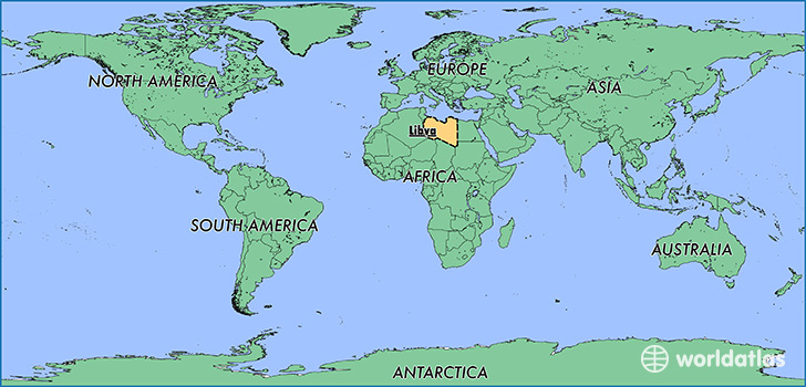 Where is libya where is libya located in the world libya map map showing the location of libya gumiabroncs Image collections