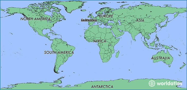 Where Is Liechtenstein Where Is Liechtenstein Located In The - Liechtenstein map