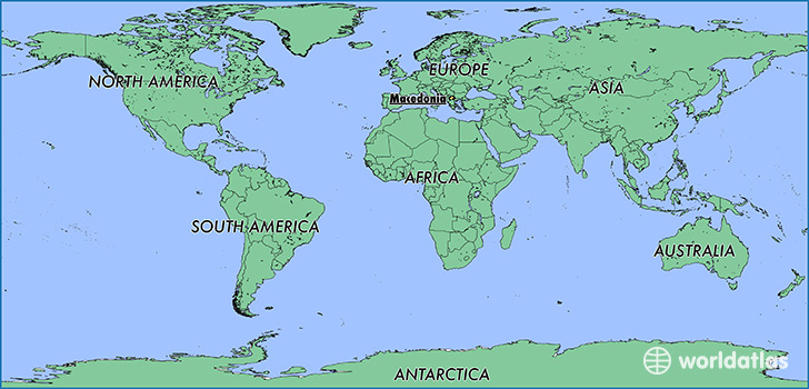 Where is Macedonia? / Where is Macedonia Located in The World