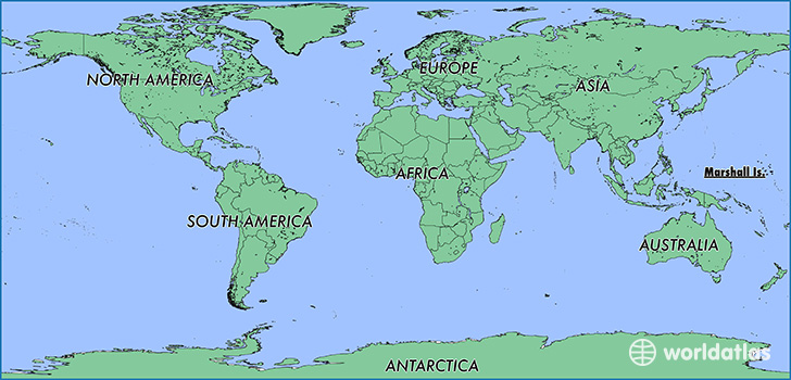Where Are The Marshall Islands On A World Map Where is The Marshall Islands? / Where is The Marshall Islands