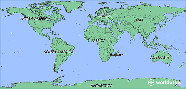 Where Is Mauritius Where Is Mauritius Located In The World - Mauritius location in world map