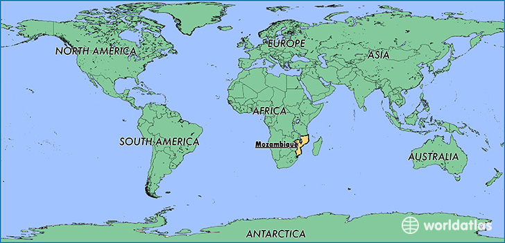 Mozambique has the 109th largest economy in the world.
