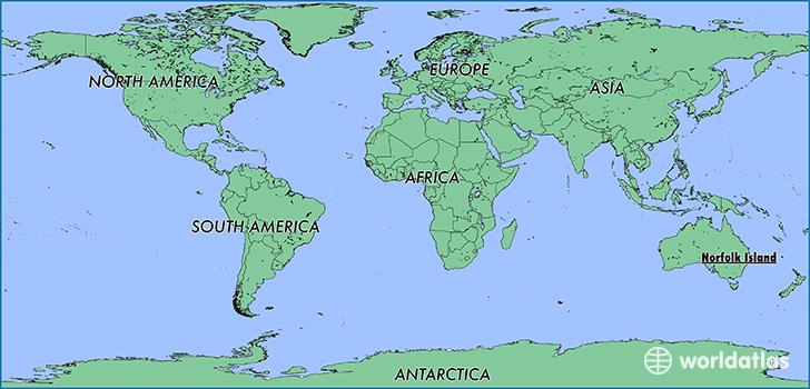 Where is norfolk island where is norfolk island located in the where is norfolk island sciox Images