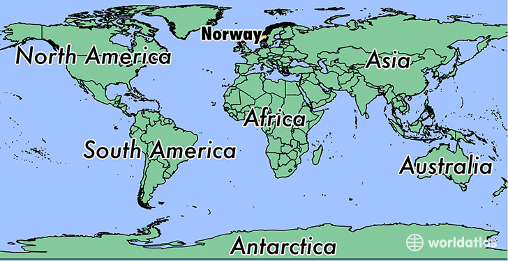 Where Is Norway Where Is Norway Located In The World Norway - Norway map picture