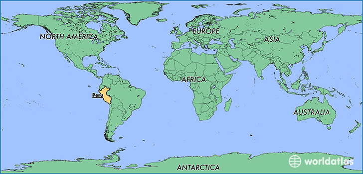 Where is Peru Where is Peru Located in The World Peru Map