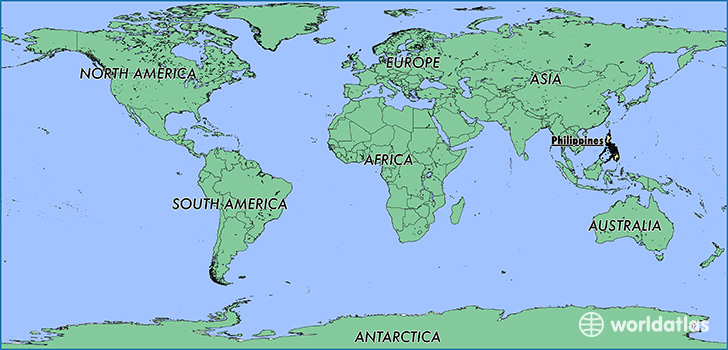 Where is the philippines where is the philippines located in the map showing the location of the philippines gumiabroncs