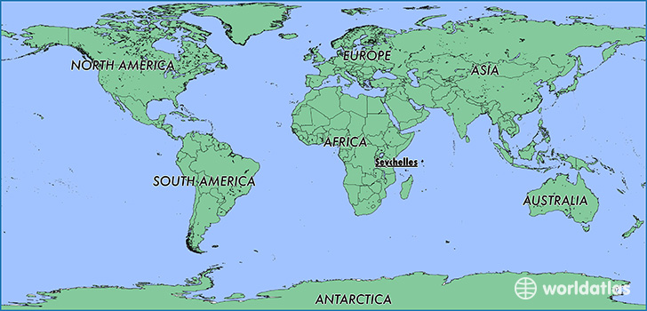 Where Is Seychelles Where Is Seychelles Located In The World - Map of seychelles world