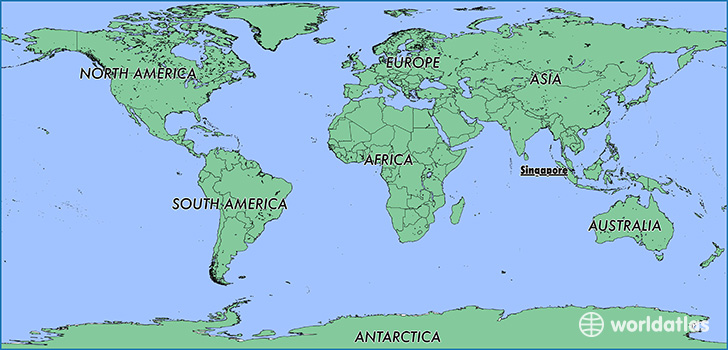 Singapore On World Map Where is Singapore? / Where is Singapore Located in The World
