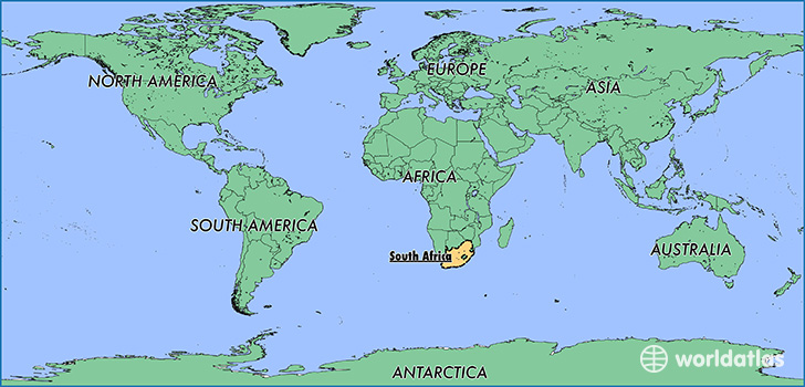 Where is south africa where is south africa located in the world map showing the location of south africa gumiabroncs