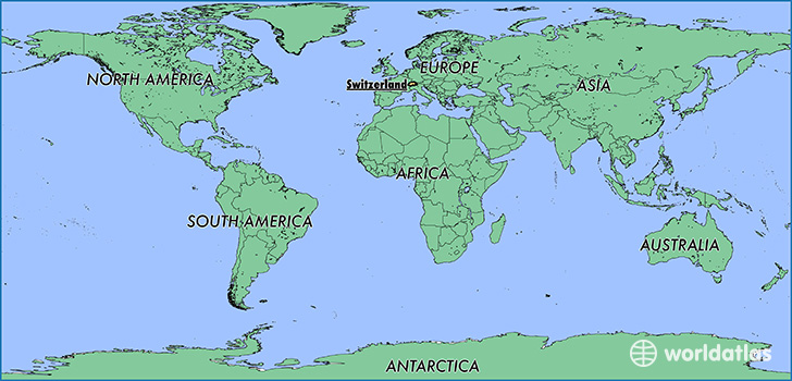 Switzerland World Map Where is Switzerland? / Where is Switzerland Located in The World  Switzerland World Map