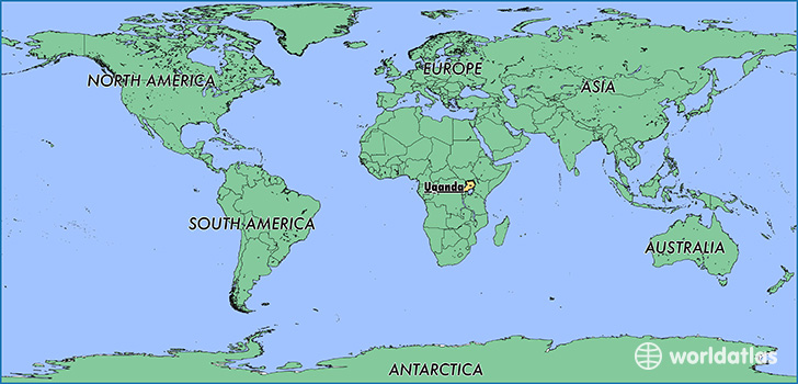 Where is uganda where is uganda located in the world uganda map showing the location of uganda gumiabroncs