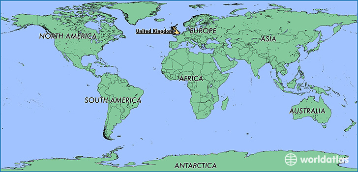 Uk In Map Of World.Where Is The United Kingdom Where Is The United Kingdom Located