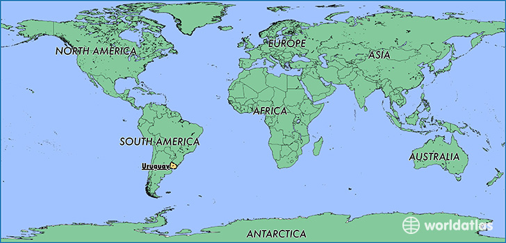 Where Is Uruguay Where Is Uruguay Located In The World - Map of uruguay