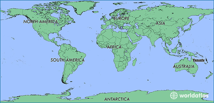 Where Is Vanuatu Where Is Vanuatu Located In The World - Vanuatu map