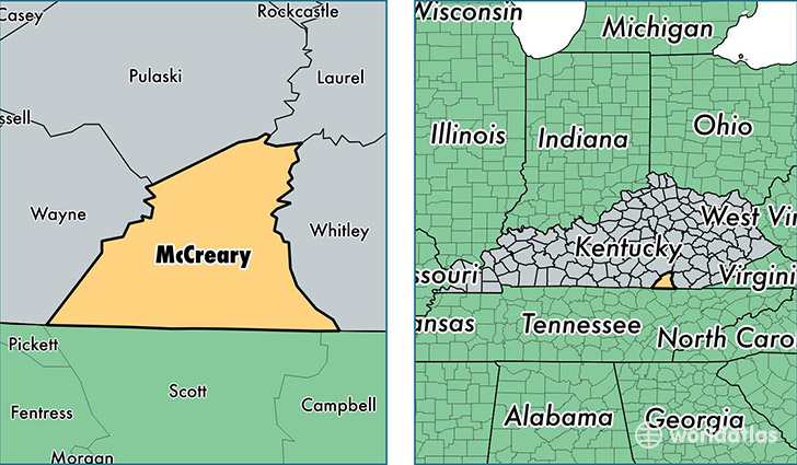 1162 mccreary county kentucky