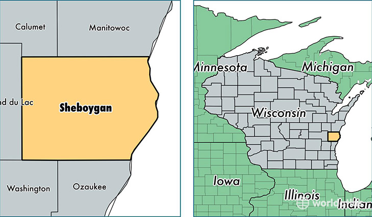 Wisconsin County Map Gis Sheboygan 0