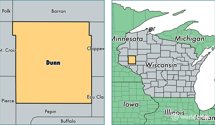 Menomonie (WI) United States  city pictures gallery : ... County, Wisconsin / Map of Dunn County, WI / Where is Dunn County