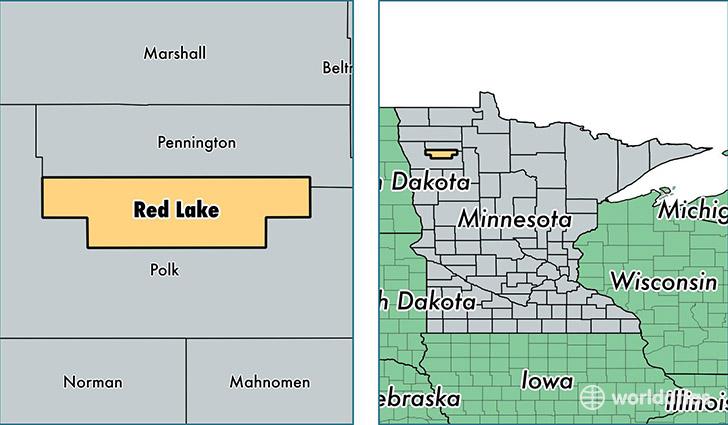 Red Lake Minnesota Map.Red Lake County Minnesota Map Of Red Lake County Mn Where Is