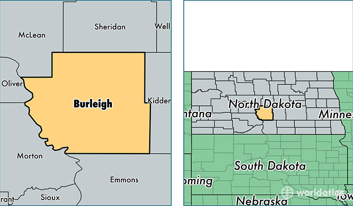 Image result for burleigh county