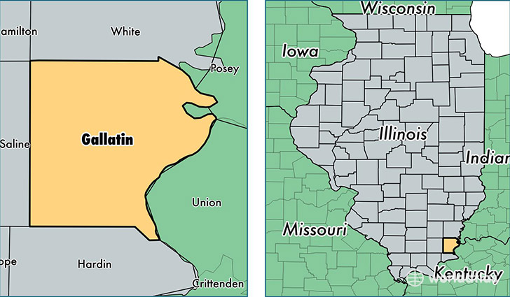 Illinois And The United States Online Map ComPortOne Of - Illinois us map