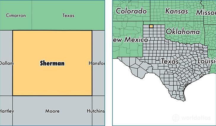Where Is Sherman County Texas