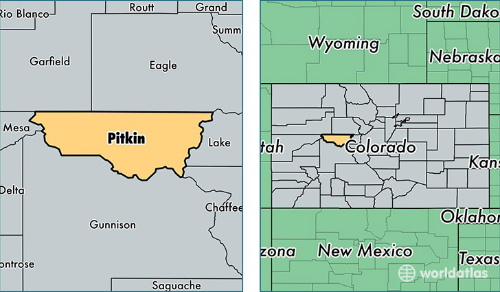 Pitkin County, Colorado / Map of Pitkin County, CO / Where is