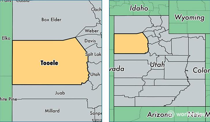 Tooele County, Utah / Map of Tooele County, UT / Where is Tooele