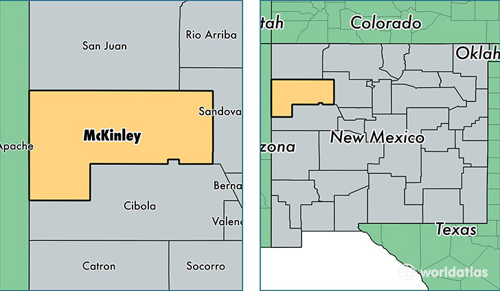 Image result for mckinley county new mexico