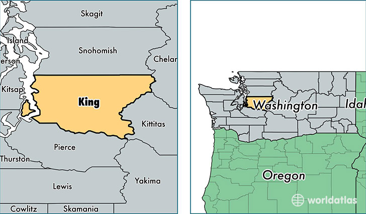 washington king county federal office locations