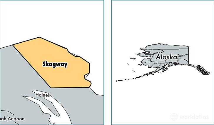 Skagway Borough, Alaska / Map of Skagway Borough, AK / Where ...