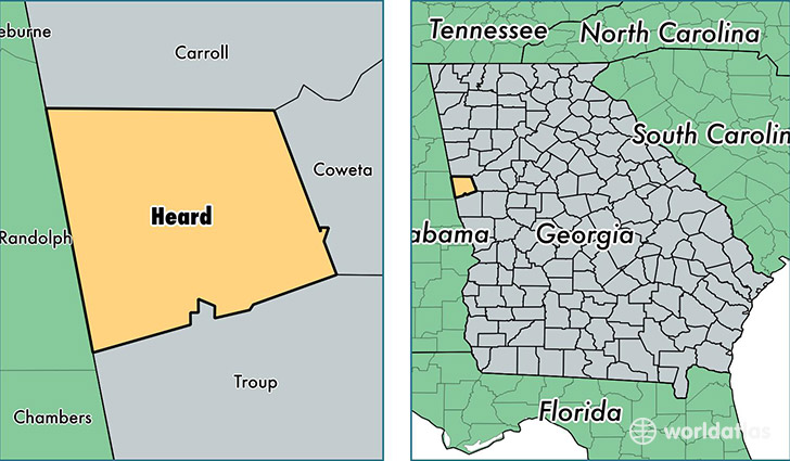 Georgia And Florida Map With Cities Bellissimonyc Com