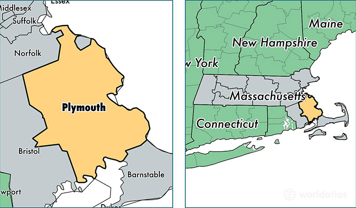 Map Of Plymouth Plymouth County, Massachusetts / Map of Plymouth County, MA
