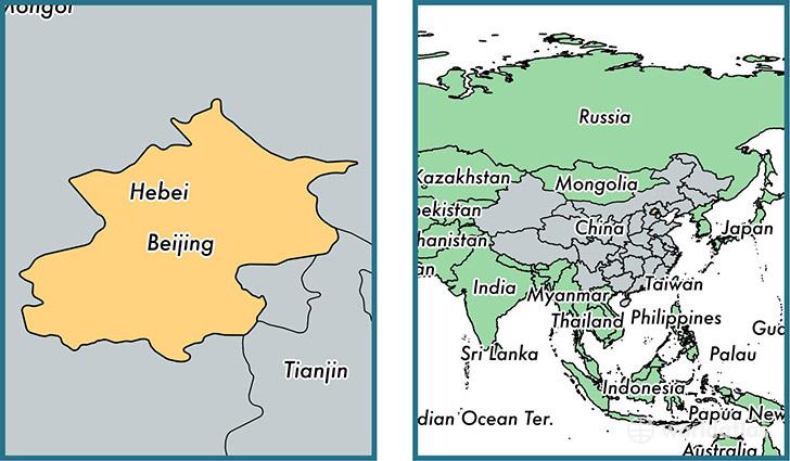 Beijing Municipality China Map Of Beijing Cn Where Is Beijing