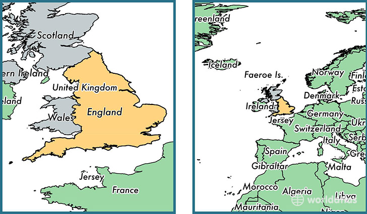 Country Map Of England.Where Is England Country Where Is England Located In The