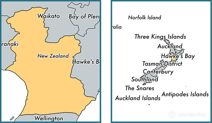 Location of regional council of Manawatu-Wanganui on a map