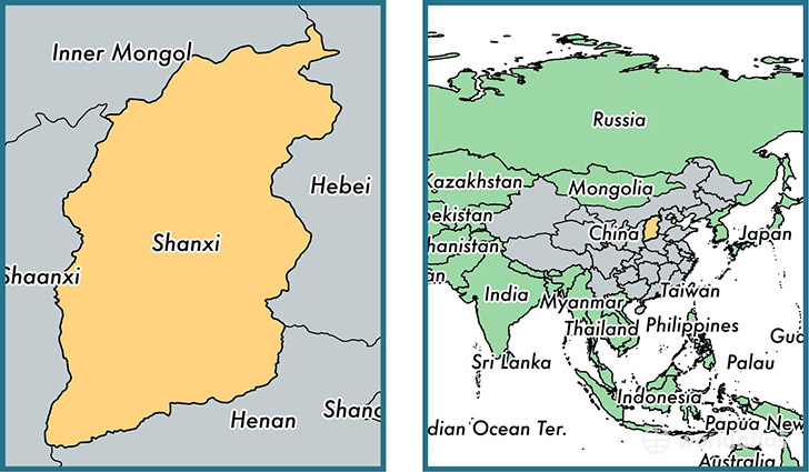 Shanxi China Map.Shanxi Province China Map Of Shanxi Cn Where Is Shanxi