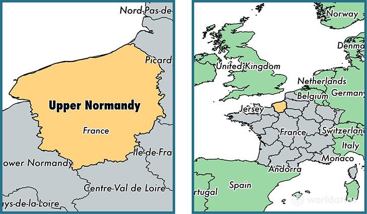 Where Is Upper Normandy Metropolitan Region Where Is Upper