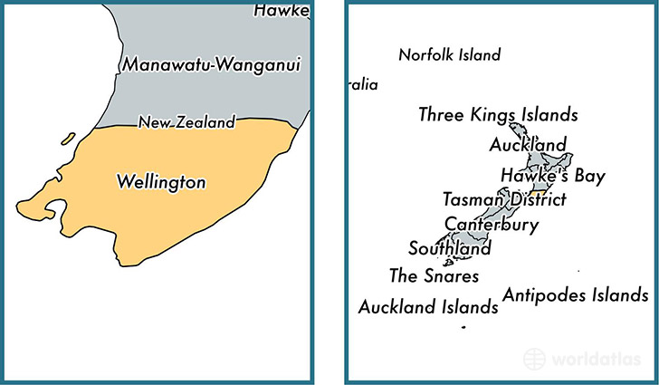 Where Is Wellington New Zealand On The Map.Wellington Regional Council New Zealand Map Of Wellington Nz