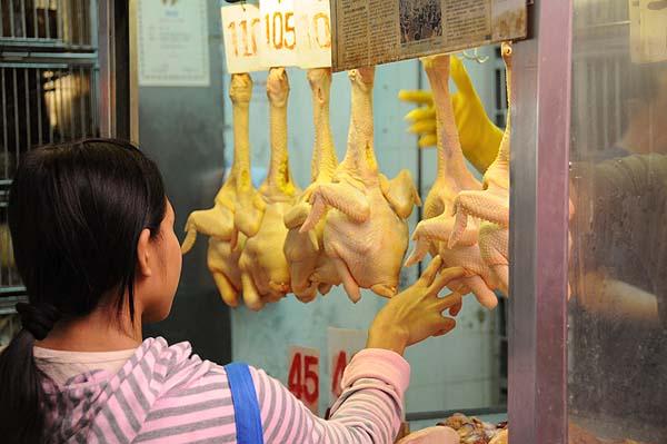 chicken shopping