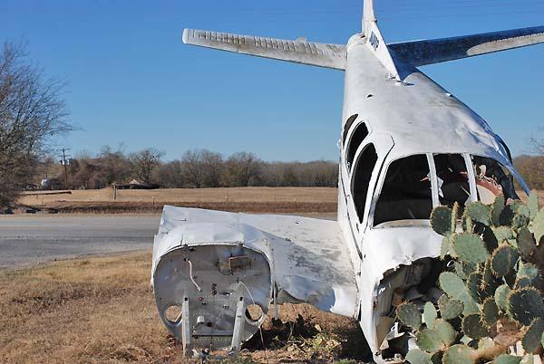 crash landing photo